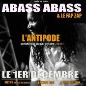 Abass Abass & le Fap Zap – L'antipode